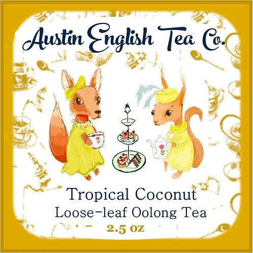 Decadent Coconut Loose Leaf Oolong Tea
