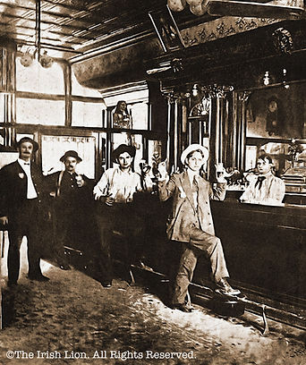 Historic Photo of The Irish Lion Back Bar © 1982-2018 Irish Lion All Rights Reserved..