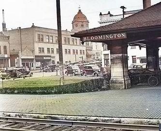 Monon Train Station