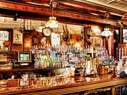 The Irish Lion Restaurant & Pub Back Bar