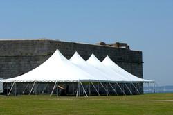 ft adams wedding tent