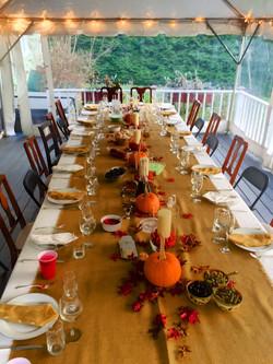 thanksgiving tent