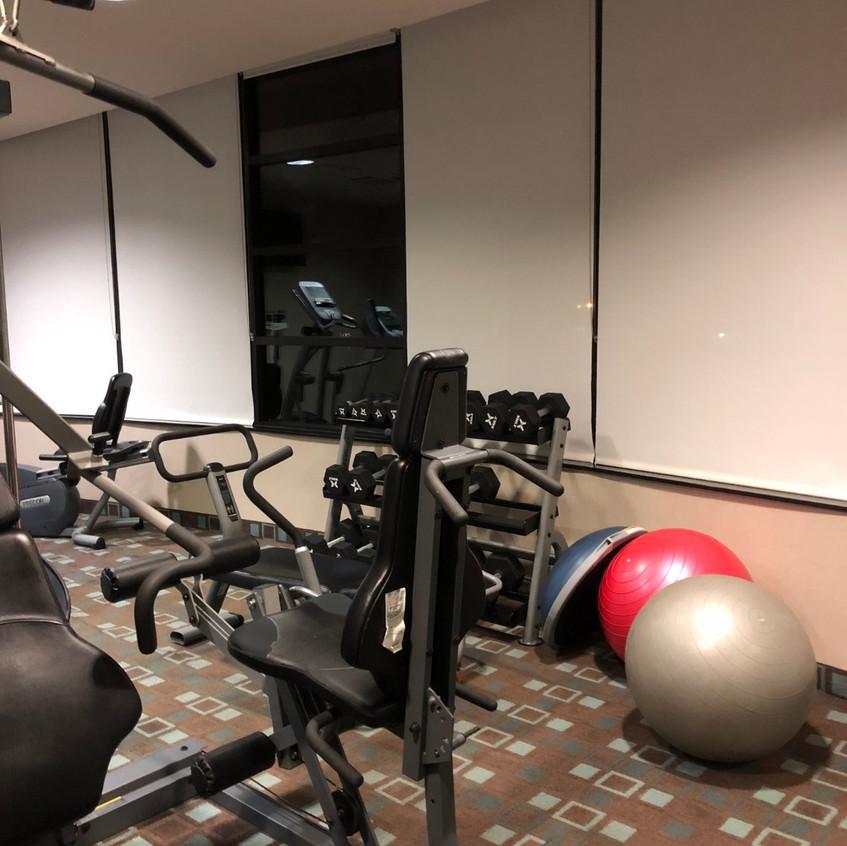 Hotel Gym: Holiday Inn Orange County