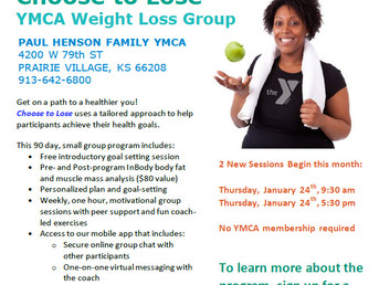 Choose to Lose Program - Paul Henson YMCA