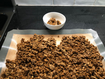 Best Ever High Protein Granola