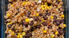 Black Bean, Corn, and Salsa Salad