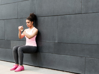12 Days of Fitness Day #2: Wall Squat
