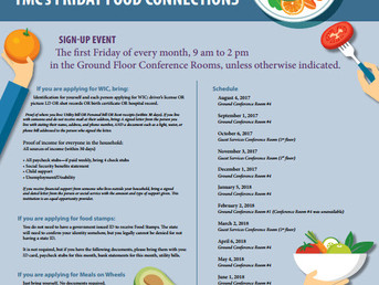 Friday Food Connections