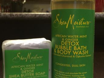 Shea Moisture Detox Shea Butter Soap & Body Wash
