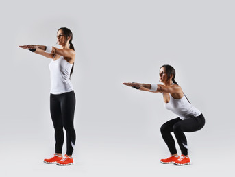 12 Days of Fitness Day #8 Air Squats