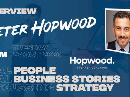 Interview: Peter Hopwood