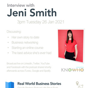 Interview with Jeni Smith, Networking KnoWho