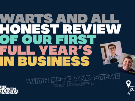 Honest review of my first year in business
