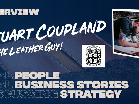 Interview, Stuart Coupland from Coupland Leather