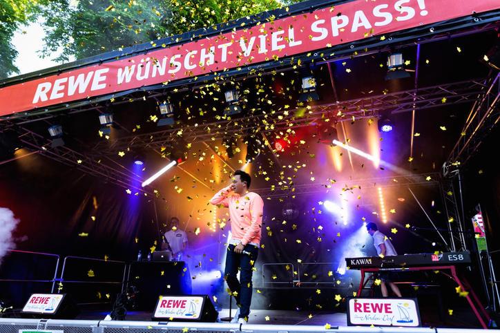 Florian Bunke auf der Kieler Woche 2019