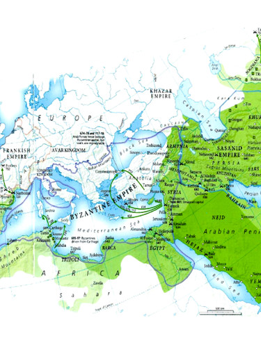 Growth of Islam map