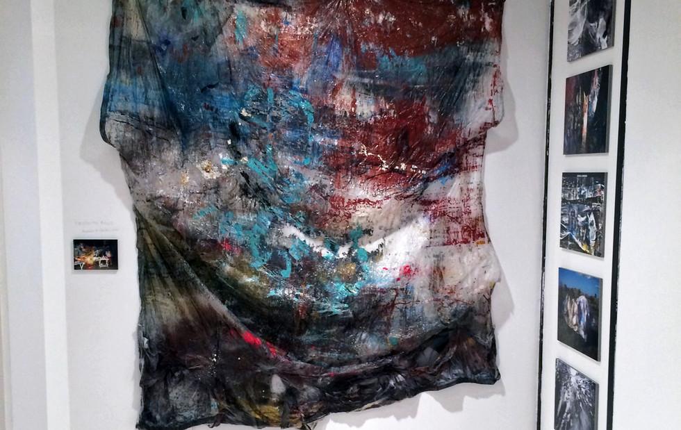 "Proyecto Eolo's participation in the  ""Metamorphosis Civitatis"" exhibition,  Álvaro Borobio's solo show at the  Anabel Segura Cultural Center,  Madrid, in 2015."