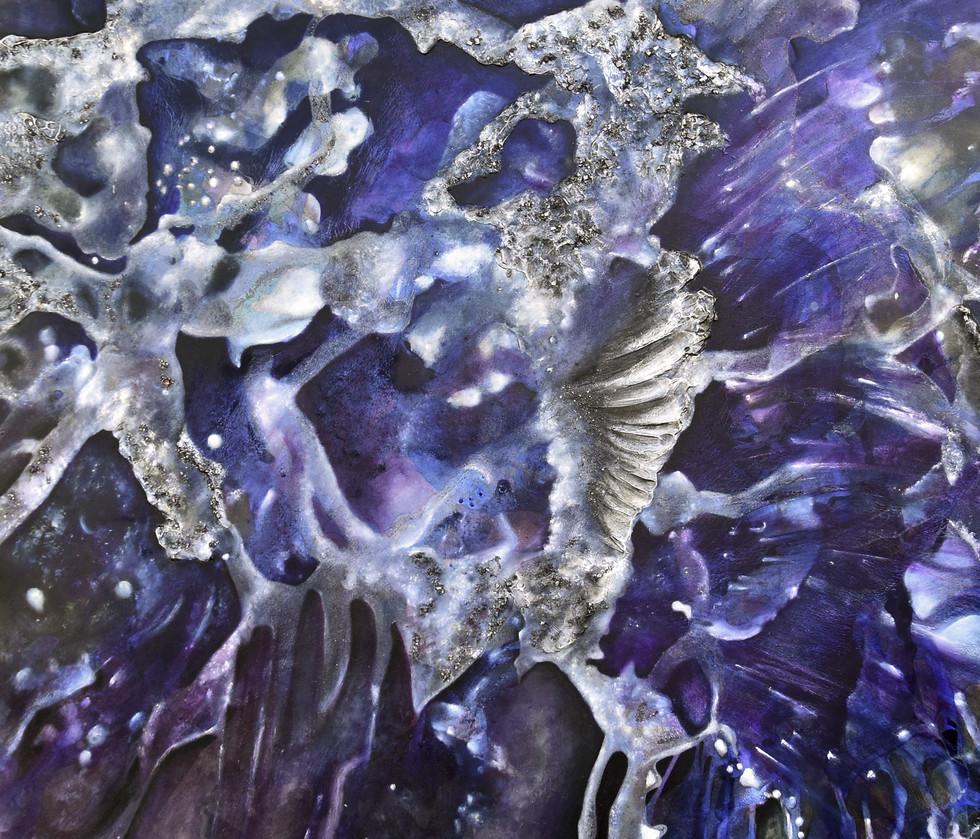 """Mi Corazón II"" - Painting - New Cosmos"