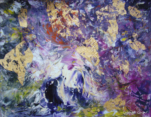 """Garden of Purple Orchids"""