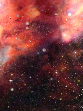 """Burgundy Cosmos"""