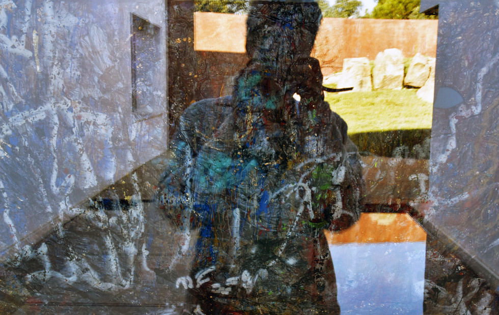 Eolic self-portrait.  The photographic potential of  this body of work is inexhaustible.