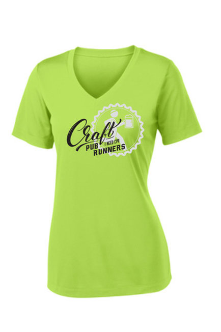 CPR Women's V-neck Running Shirt