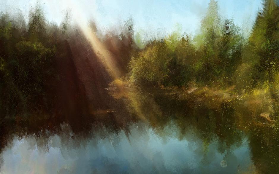 Rice Lake in November
