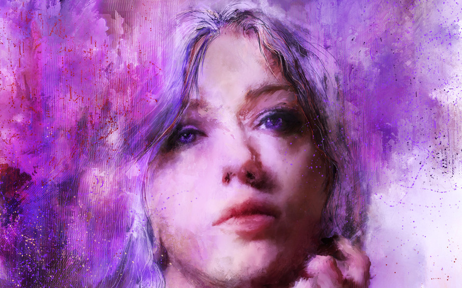 Violet - 10x14