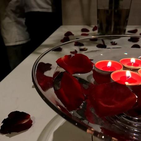 Reinventamos o tradicional Jantar de São Valentim
