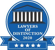 2020 Lawyers of Distinction logo phot on