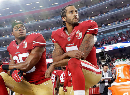 The National Anthem & Kneeling.