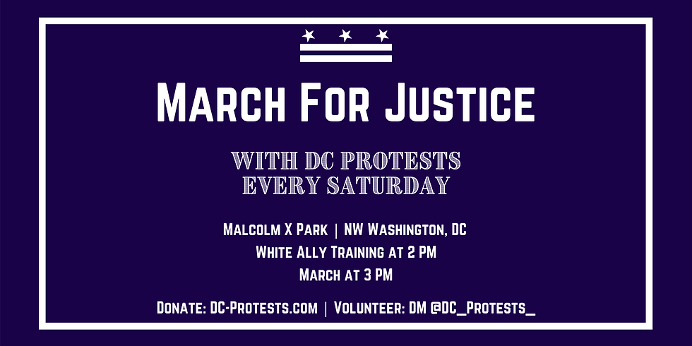 March for Justice with DC Protest