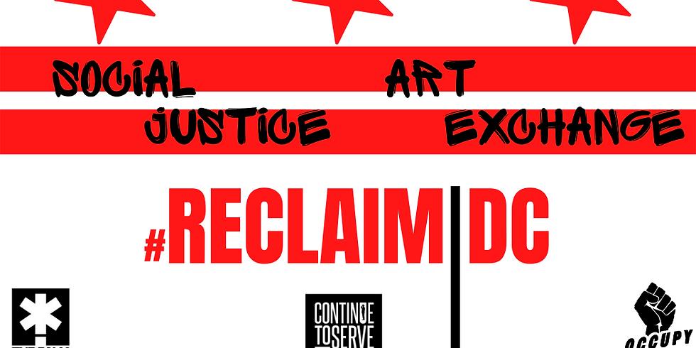 Social Justice Art Exchange Event