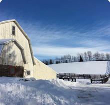 The beautiful barn
