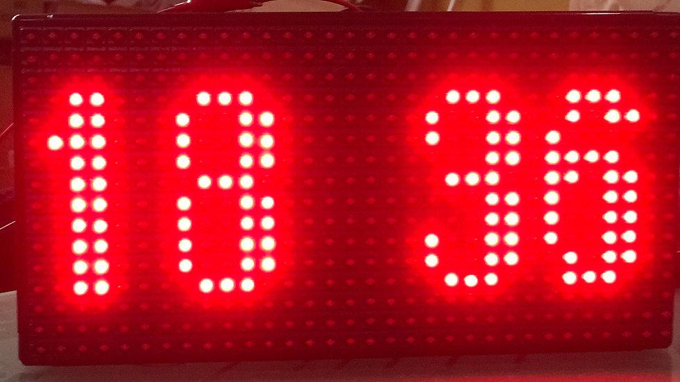 LED CLOCK 24V