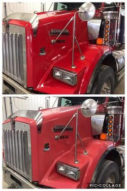 restore eclat camion avant apres