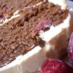 Strawberry Chocolate Layer Cake