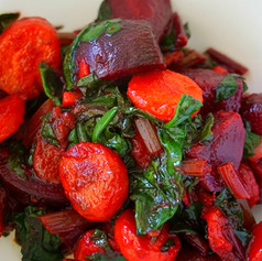 Caramelized Beets and Carrots