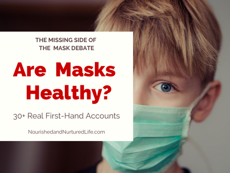 Are Masks Healthy? Real World Data for the Mask Debate