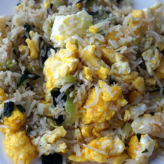 Egg and Fried Rice Breakfast
