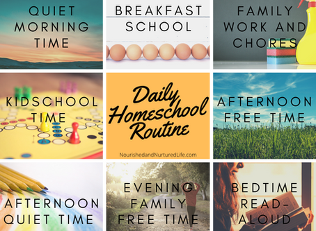 Our Homeschool Routine (with a 13yo and a 10yo)