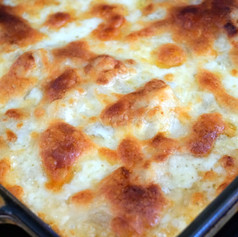 Cheesy Hashbrown Casserole (gluten-free)