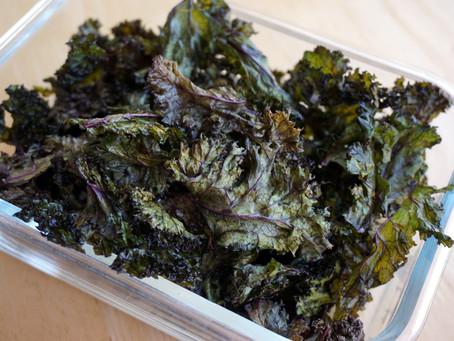 Kale Chips (keto : gaps : grain free : paleo : primal)