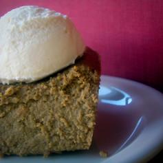Gingerbread Custard Cake