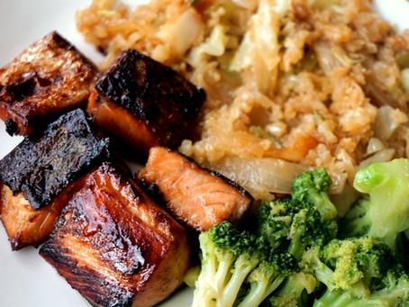 Teriyaki Salmon (AIP : GAPS : grain-free : soy-free)