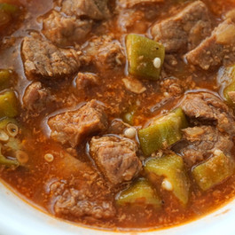 Egyptian Meat and Okra Stew