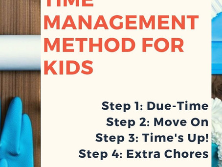 Teaching Kids Time Management, WITHOUT Nagging!