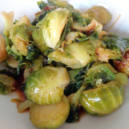 Maple Butter Brussels Sprouts