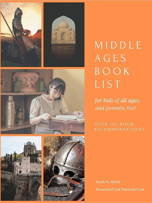 Middle Ages Book List