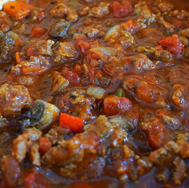 Spaghetti Sauce Loaded with Veggies and Beef